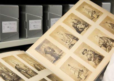 Conservation du fonds photographique du muséum