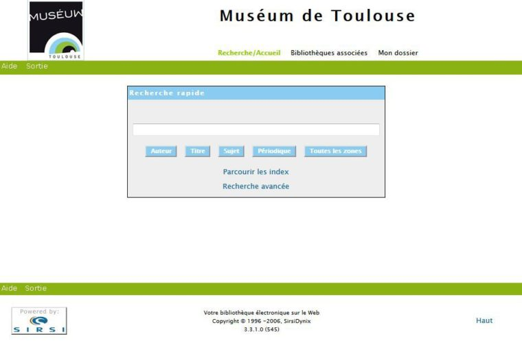 Catalogue de la bibliothèque Cartailhac