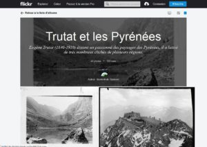 Flickr, albums Eugène Trutat