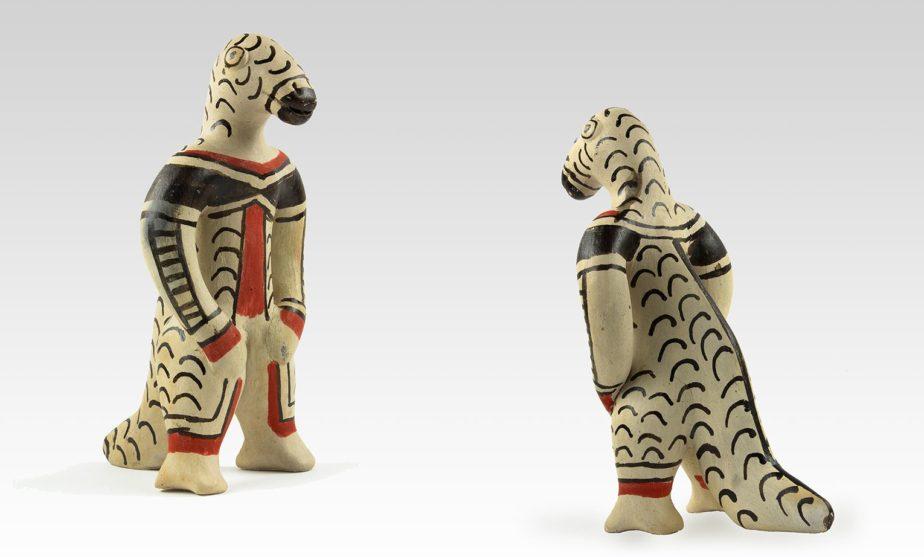 Figurine en céramique, collections du muséum de Toulouse