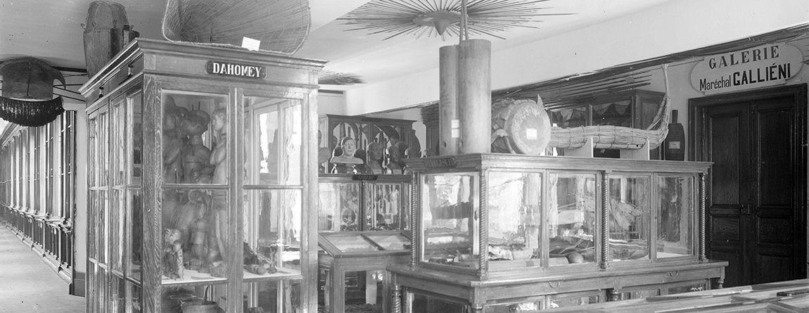 Salle d'ethnographie Galliéni créée en 1932