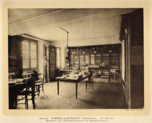 """Vue issue du livre """"Musée d'histoire naturelle"""", A. Lécaillon, L. Mengaud, 1923, collections du muséum de Toulouse"""