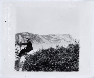 Plaque de verre négative, format 8,5x10cm, collections du muséum de Toulouse