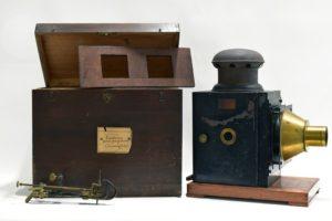 Matériel de projection, collections du muséum de Toulouse