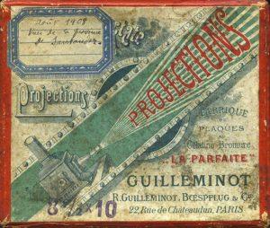 """Boîte de projections """"La Parfaite"""" Guilleminot, collections du muséum de Toulouse"""