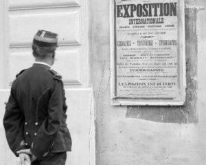 Palque négative au gélatino bromure d'argent, collections du muséum de Toulouse