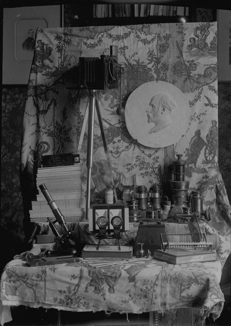 Portrait allégorique, collections des Archives Municipales