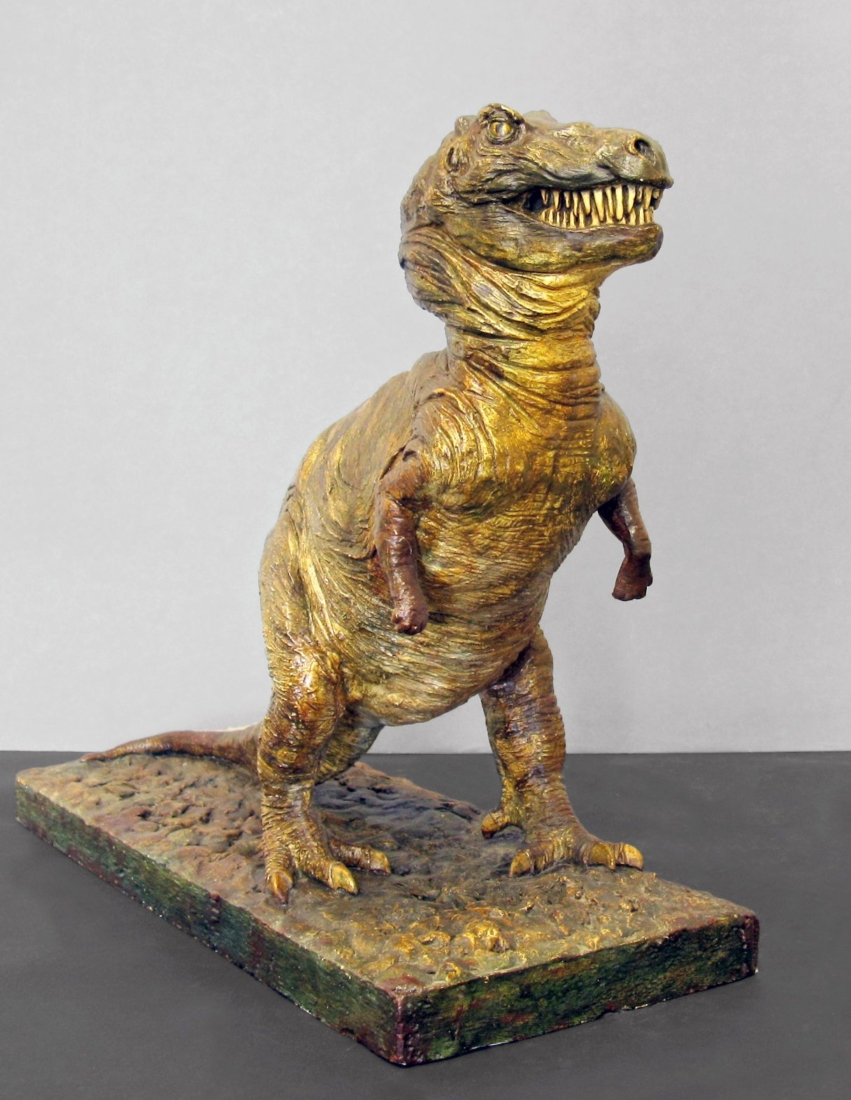 Maquette de tyrannosaure
