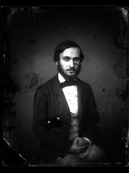 Portrait d'Eugène Trutat par Amédée Trantoul, MHNT.PHa.912.PR43, collections du muséum de Toulouse