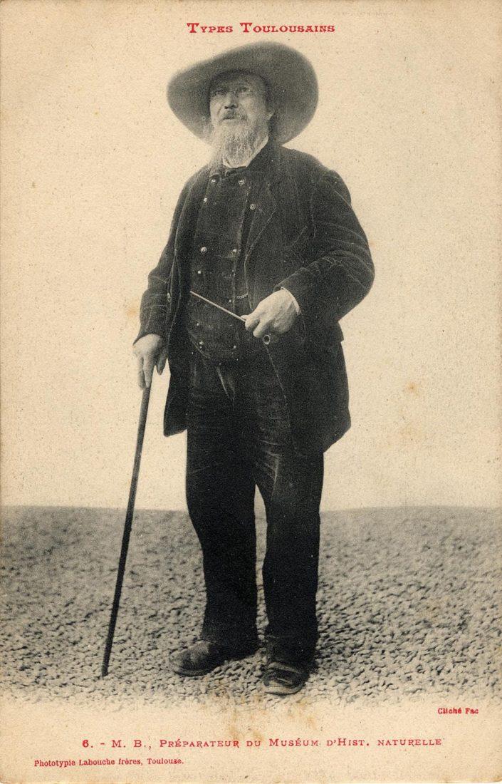Types toulousain, Victor Bonhenry, préparateur, Archives Municipales de Toulouse