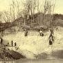 Photographie de la côte de Valentine, Saint-Gaudens, collections du muséum de Toulouse