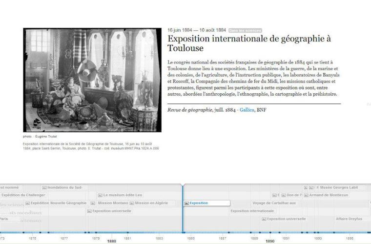 Quelques dates autour des collections et de la vie du muséum depuis ses origines jusqu'à aujourd'hui en lien avec l'Histoire locale, française et internationale ainsi que quelques évènements scientifiques.