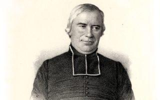 Gravure représentant l'Abbé Dupuy