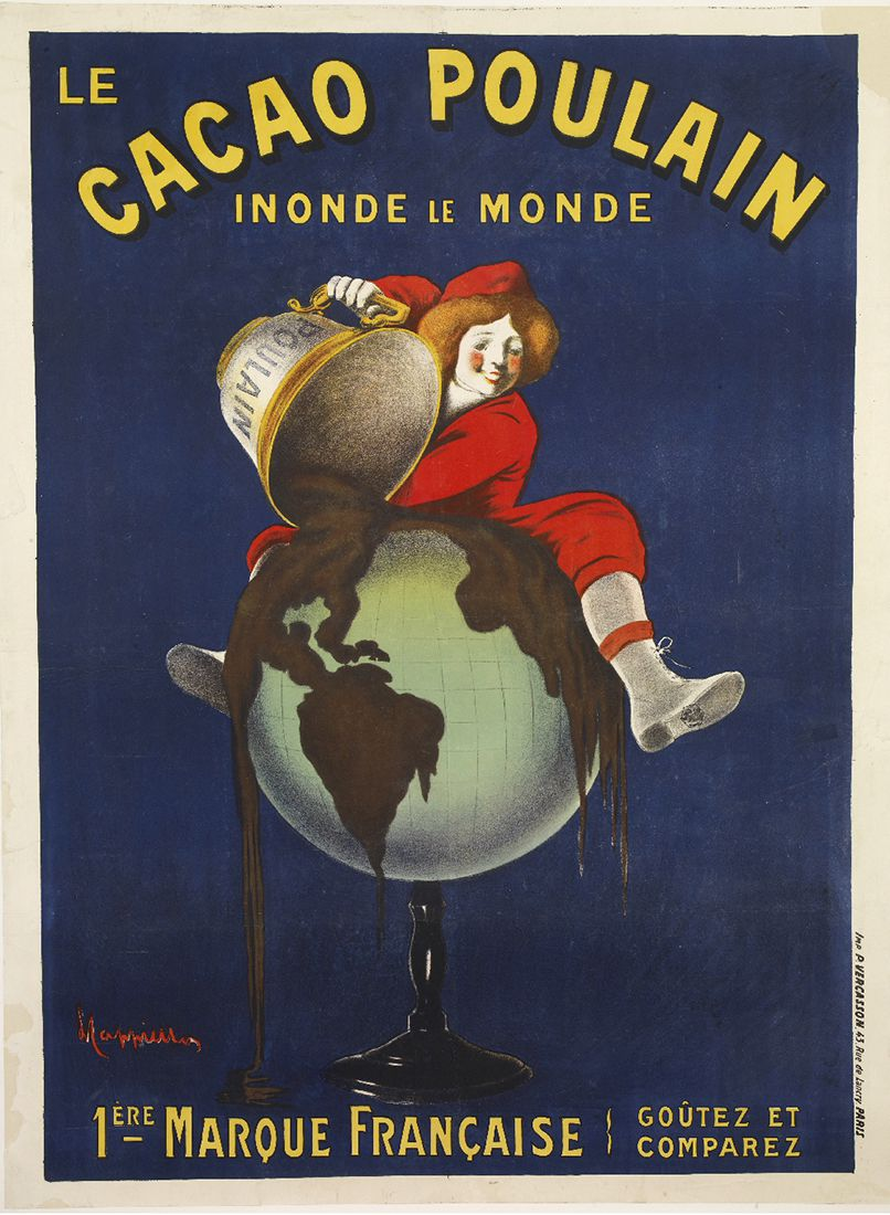 Affiche Poulain, collections du Musée de l'affiche de Toulouse