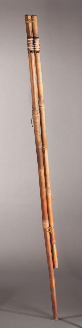 Flûte urua, collections du muséum de Toulouse