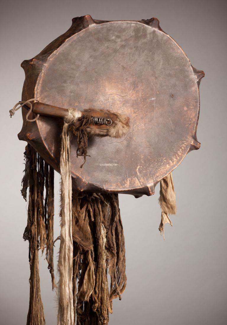 Tambour de chamane, collections du muséum de Toulouse